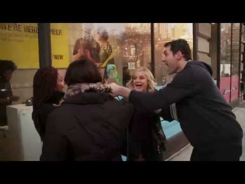 Billy on the Street: It's Not Pitbull: It's Amy Poehler!