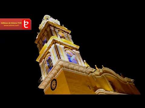 Edificios Night©, 3 iglesias de Cholula Puebla. edemx.com