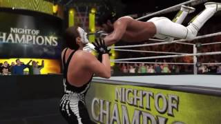 WWE 2k17 Top 10 Moves of Seth Rollins