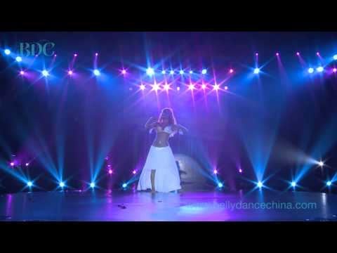 Didem Kinali Preforms for Belly Dance China's Global Belly Dance Conference Closing Gala