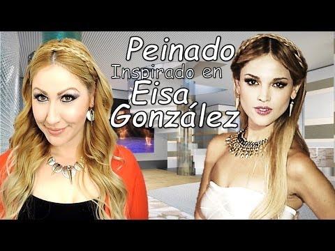 PEINADO inspirado en EIZA GONZALEZ trenza diadema
