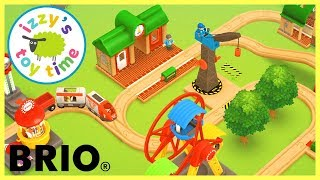 BRIO WORLD RAILWAY APP! FIRST TRACK!