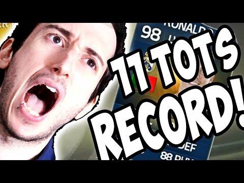 11 TOTS IN PACK RECORD INCREDIBILE! LA GUERRA DEI TOTS - Spacchettamento Selvaggio TOTS