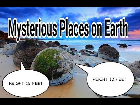 Mysterious places in the world .दुनिया के रहस्यमय स्थान।