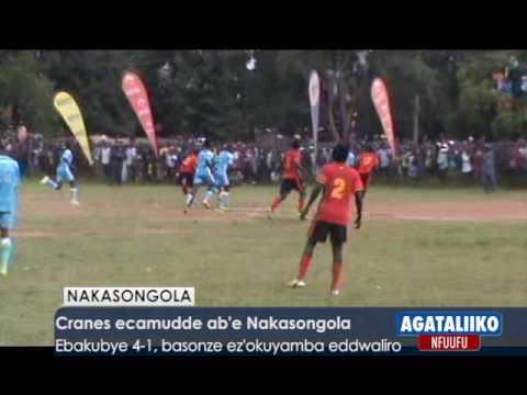 Cranes ecamudde ab'e Nakasongola