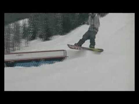 Jibsy King - Snowboard Jib Session with Steve H.
