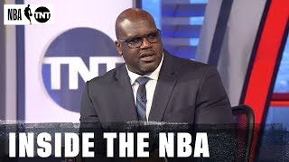 Thoughts on the Rockets and Warriors Officiating [FULL] | Inside the NBA