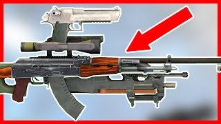 CRAZY WEAPON CUSTOMIZATION UPDATE - CS:GO
