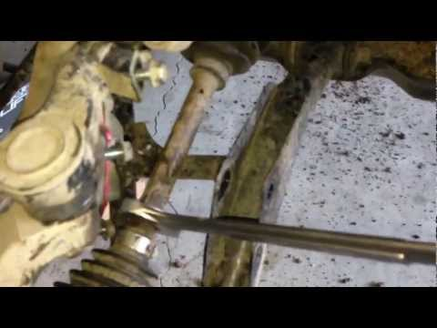 How To Change Inner Cv Boot Yamaha  Grizzly