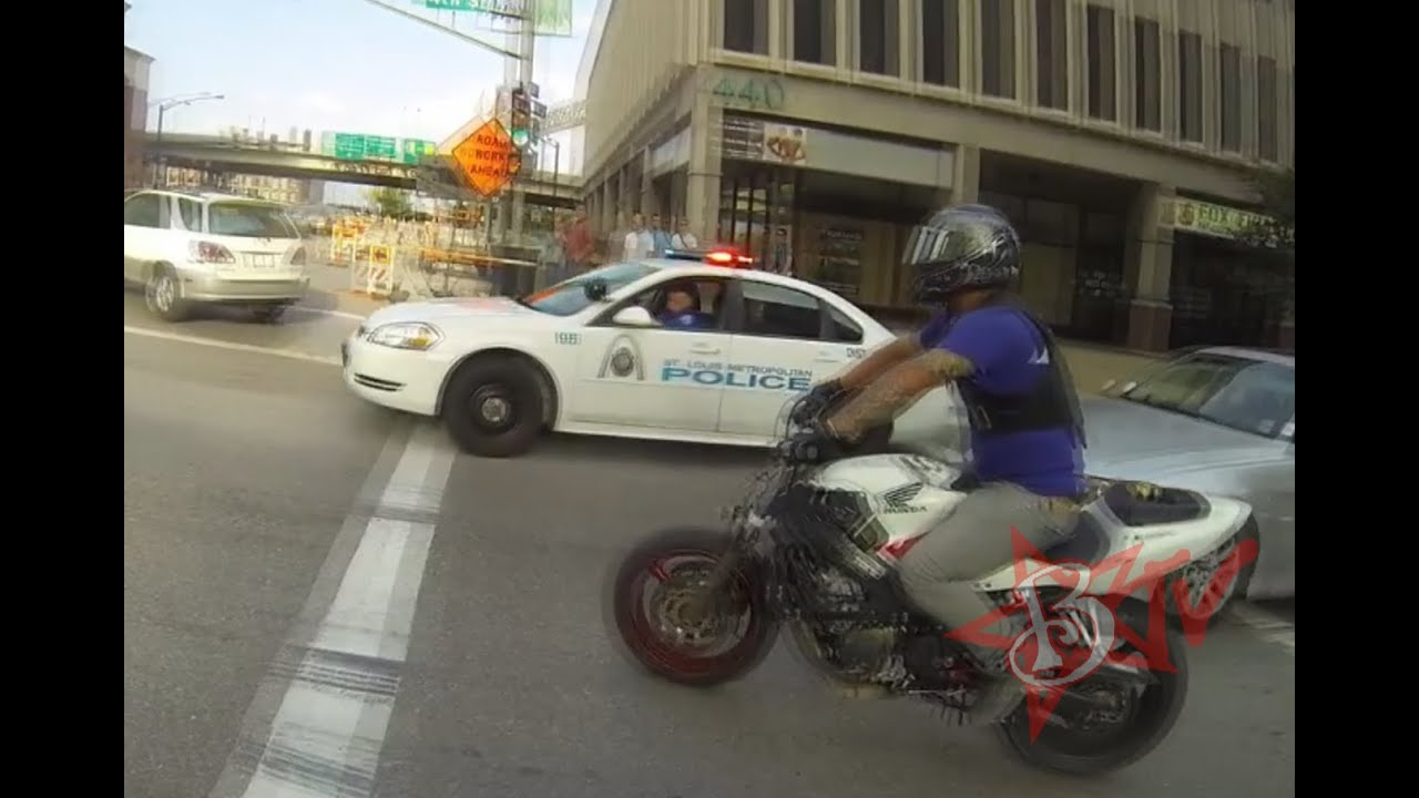Bikes Running From Cops Bike Vs Police CHASE