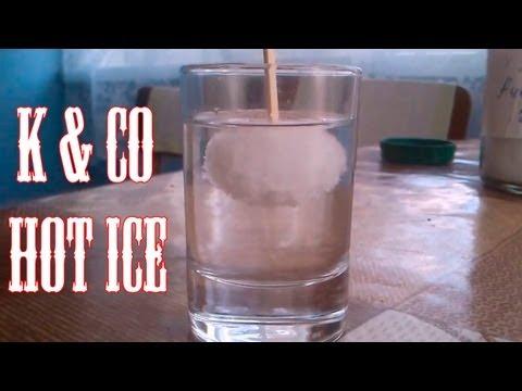 Сухой лед сода и уксус