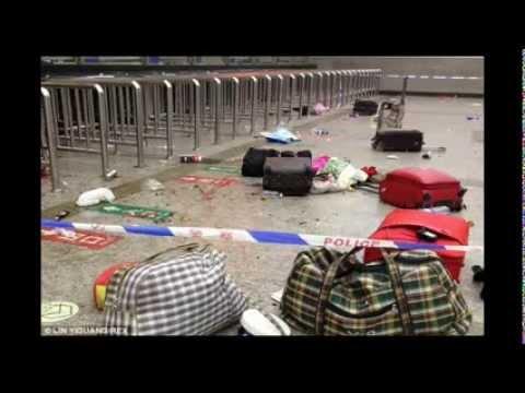 China Massive Mass Stabbing 28 dead & 113 injured in Knife Massacre at Train Station China