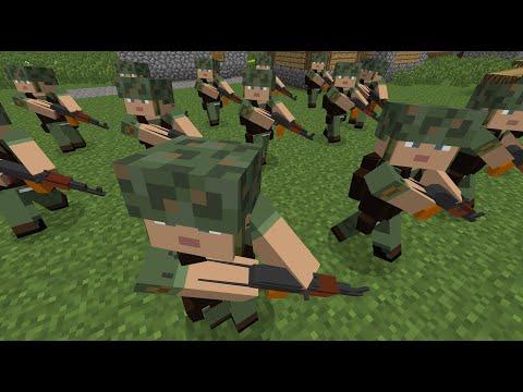 Minecraft: Custom NPC Mod - How to make NPCs march