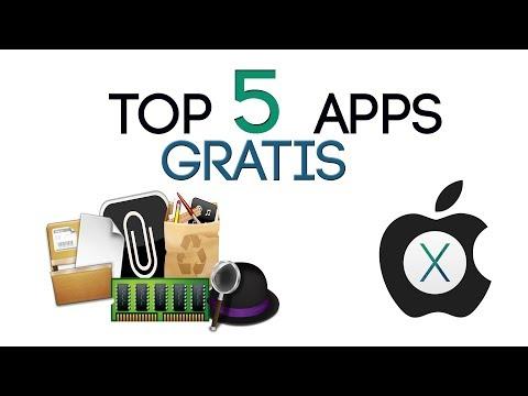 Top 5 Aplicaciones para Mac Gratis 2014 Julio