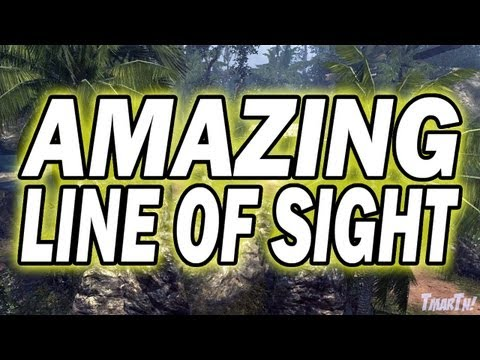 MW3 Tips and Tricks - Amazing Village Line of Sight (Modern Warfare 3)