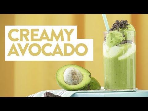 Resep Creamy Avocado | YUDA BUSTARA
