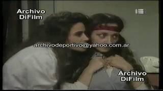 Andrea Politti Monica Villa Andres Redondo en Programa Sex a Pilas - DiFilm (1992)