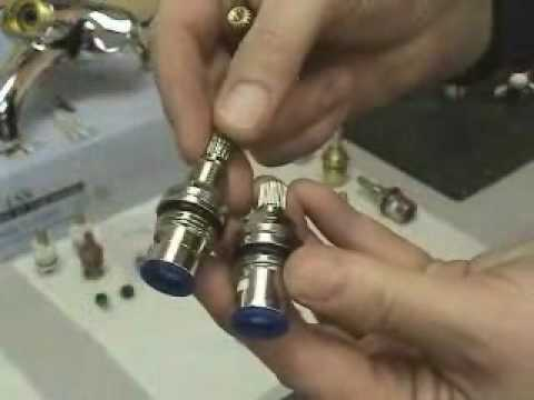 kingston brass how to replace ceramic disk cartridge youtube