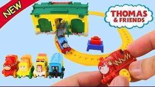 Mở xe lửa Thomas and Friends phiên bản siêu anh hùng cực ngầu cùng anh Khoai Tây - ToyStation 02
