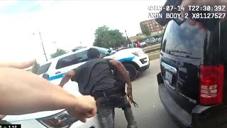 Body cam footage released in Chicago police shooting