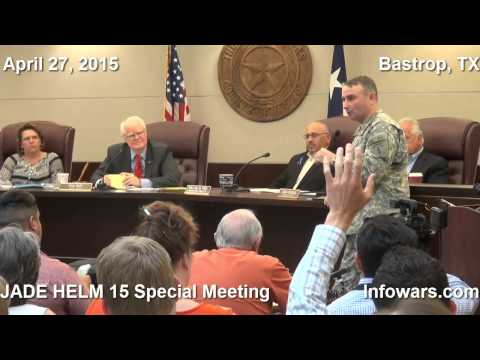JADE HELM 15 Bastrop County Commissioners Court Special Meeting 27 April 2015 | Full length version