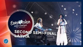Carousel - That Night - Latvia - LIVE - Second Semi-Final - Eurovision 2019
