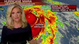 Hurricane Maria heads toward Puerto Rico as category 5 storm