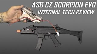 ASG CZ Scorpion EVO 3A1 In-Depth Internal Overview - Airsoft GI