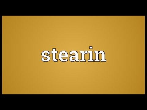 Header of stearin