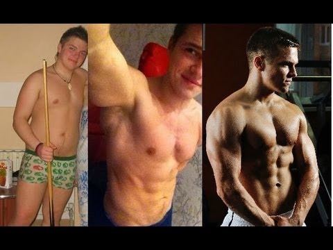 Похудение фото до и после фитнес трансформация