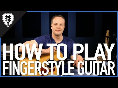 How To Play Fingerstyle Guitar - Beginner Guitar Lesson