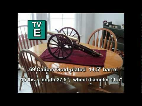 Black Powder Napoleon Field Cannon