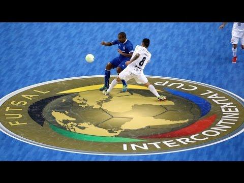 DYNAMO vs CARLOS BARBOSA. Intercontinental Futsal Cup. Qatar-2016. 24.06.2016