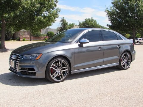 2015 Audi S3 2.0T Quattro Start Up, Test Drive, and In Depth Review