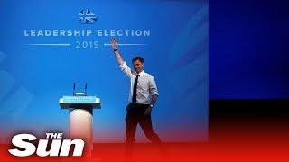 Jeremy Hunt delivers speech at Birmingham hustings event
