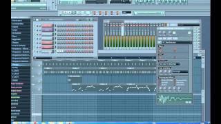 Angry birds theme song FL studio 9 remake tutorial