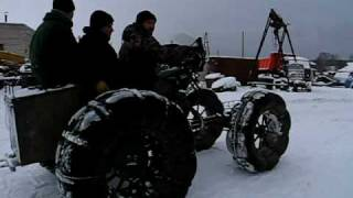 Вездеход  \ homemade ATV \ meanwhile in Russia