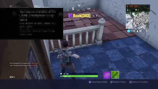 Trolling with new emote in Fortnite