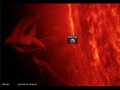 Eclipse, Solar Activity Report | S0 News March 20, 2015