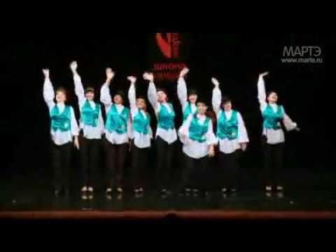 Еврейский танец 7-40 школа танцев МАРТЭ 2011