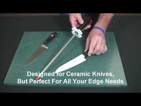 Video of Diamond Steel™ Sharpener in Fine Hardcoat™ Surface