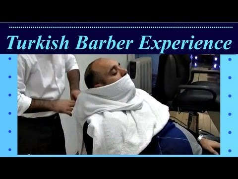 Barber Youtube : Turkish Barber Experience - YouTube