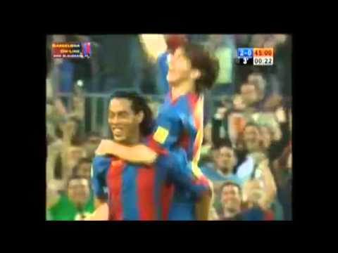 Cristiano Ronaldo and Lionel Messi FIRST GOAL EVER