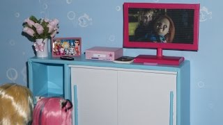 How to make a TV for doll (Monster High, EAH, Barbie, etc)