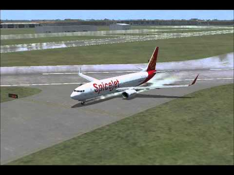 Spicejet SG-264 Take-off From Mumbai to Delhi -Flight Simulator X