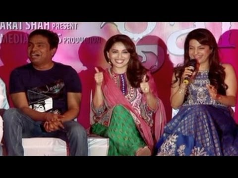 Gulaab Gang Song Launch- Madhuri Dixit & Juhi Chawla