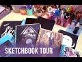 sketchbook tour! 2011-2016