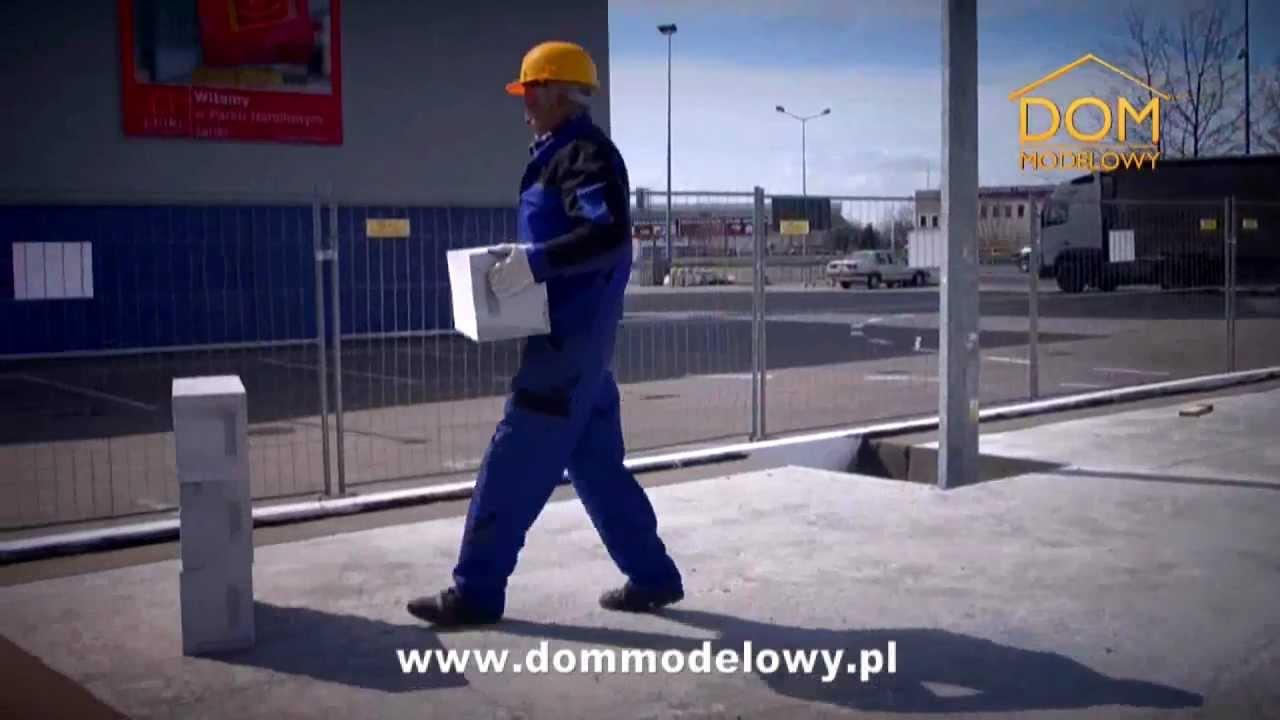 Budowa krok po kroku - stan surowy otwarty - YouTube