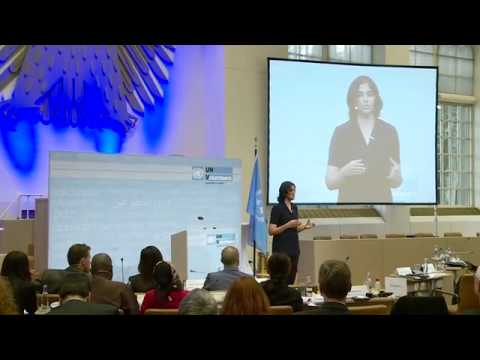 Kirthi Jayakumar, UNV Partnerships Forum, Blue Room, Bonn, Septemebr 30th 2014