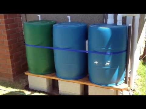 Rain Barrel Irrigation System